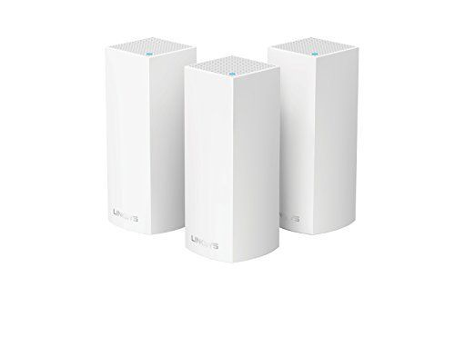 Linksys Velop Tri-band AC6600 Whole Home WiFi Mesh System 3-Pack (coverage up to 6000 sq. ft) Works with Amazon Alexa This is a popular choice from the most popular items bought online in PC category in USA. Click below to see its Availability and Price in YOUR country.