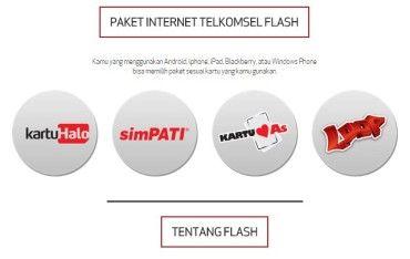 Cara Cek & Daftar Paket Internet Telkomsel Flash