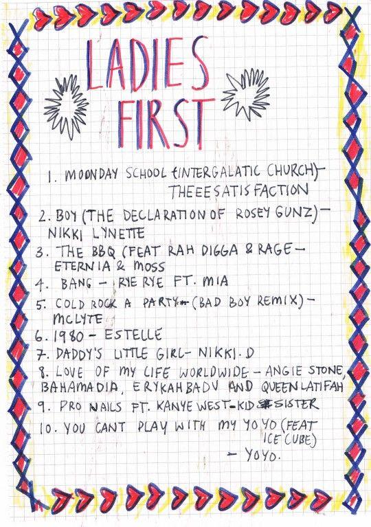 Rookie » Friday Playlist: Ladies First