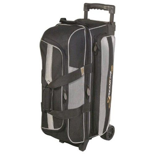Streamline 3 Ball Roller Bowling Bag by Storm- Black/Silver () *** Read more reviews of the product by visiting the link on the image.