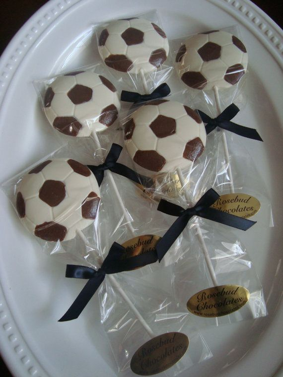 chocolate lollipops for favor