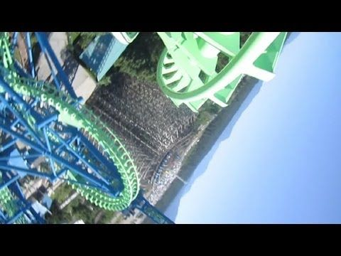 Aftershock Front Seat on-ride HD POV Silverwood Theme Park. Yes, I have been on this ride.