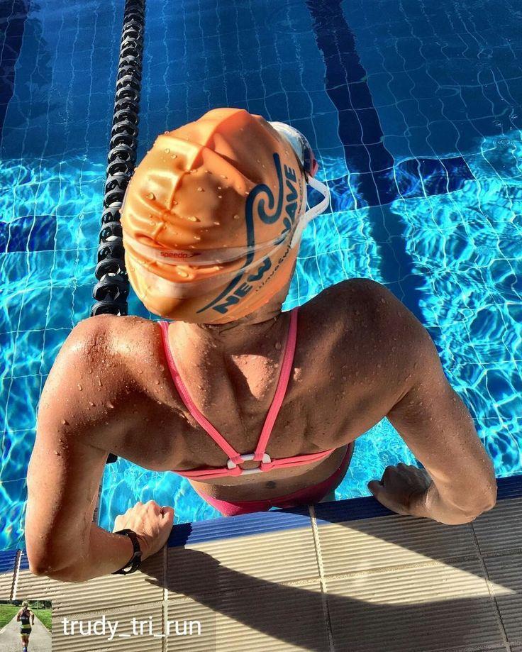 from @trudy_tri_run . . . Felt good to be back in the pool after a couple of weeks. Easy 1500m @ 1.41/100m avg. #swim #swimming #swimmer #sportkini #triathlontraining #triathlon #ironman #ironmantriathlon #ironmantraining #loveswimming #swimbikerun #trilife #tri365 #triathleteintraining #triswimpics #garminau #ironmantri #triathlete #swimmingaddict #foher #teamairofin #3athlonlife #triedgecoaching #allworldathlete