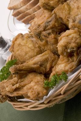 How to Brine, Bake and Deep Fry Chicken
