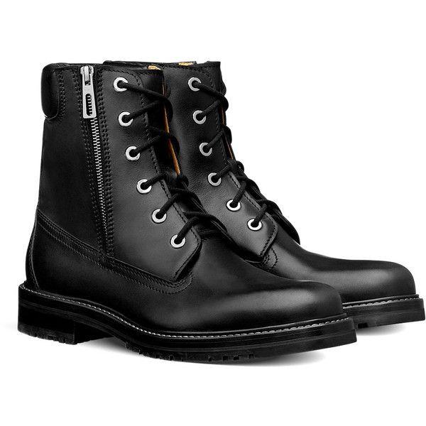 Hermès North Boot ($1,700) ❤ liked on Polyvore featuring men's fashion, men's shoes, men's boots, boots, men, shoes, zapatos hombre, mens zipper shoes, mens black shoes and mens zipper boots