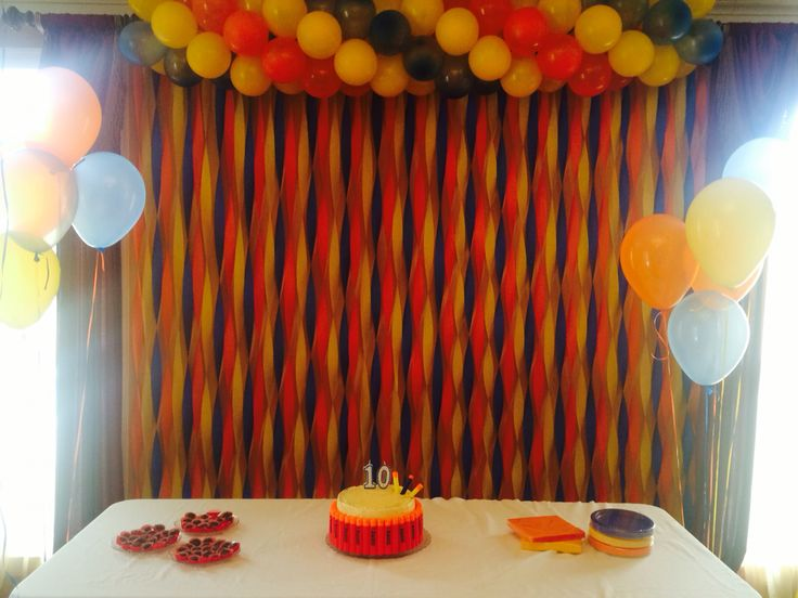 Wall Decoration Birthday Party : Nerf war party wall decoration israel s th birthday