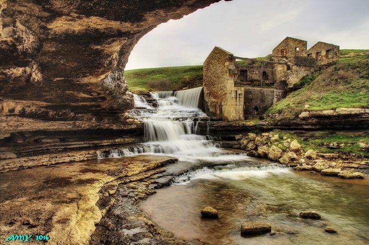 CASCADA DEL BOLAO, Cóbreces #Cantabria #Spain