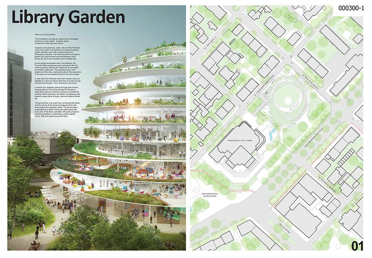 Honorable Mention - Library of Varna  Project by: Stewart Hollenstein, Australia