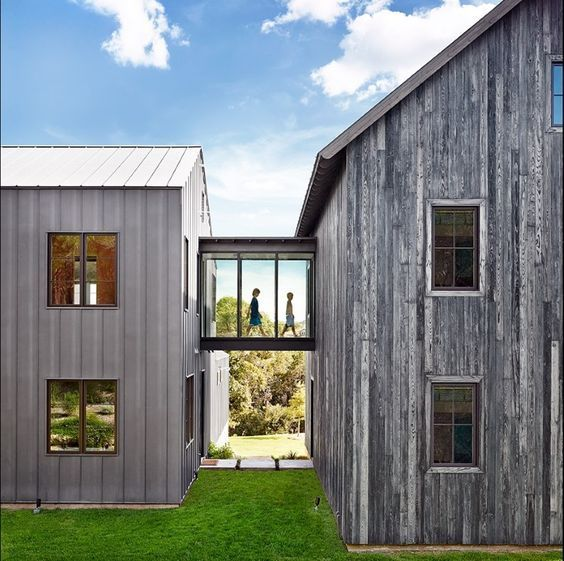 The Images Collection Of Modern Farmhouse Exterior Designs: 15 Must-see Modern Farmhouse Exterior Pins