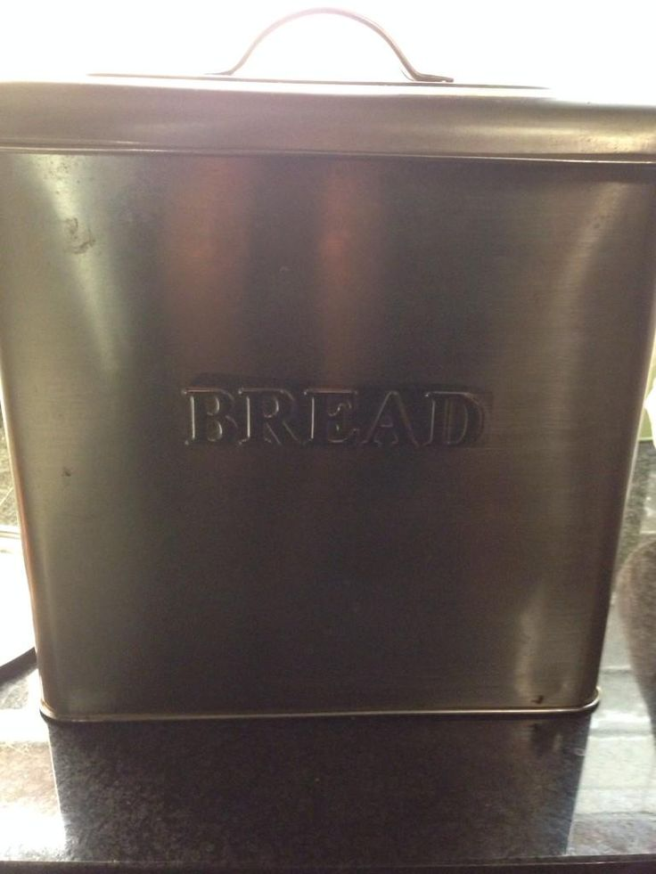 """""""Here's [my bread bin] and it even says 'bread' on it!"""" —theatreofbaking"""