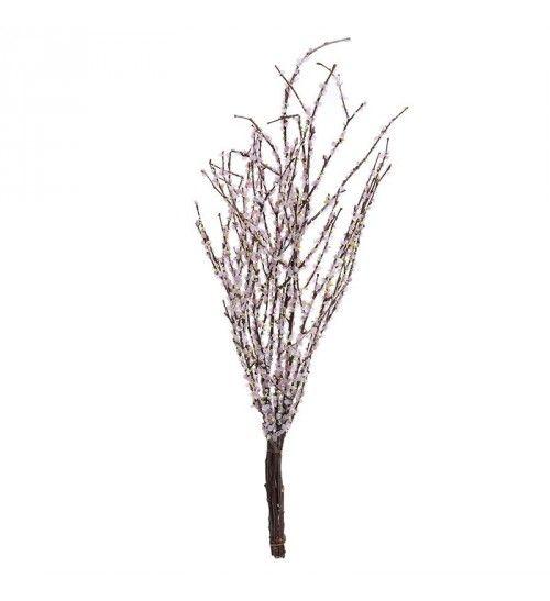 BRANCH BUNDLE W_PINK FLOWERS H-58