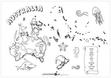 Zwierzęta Australii - Printoteka.pl