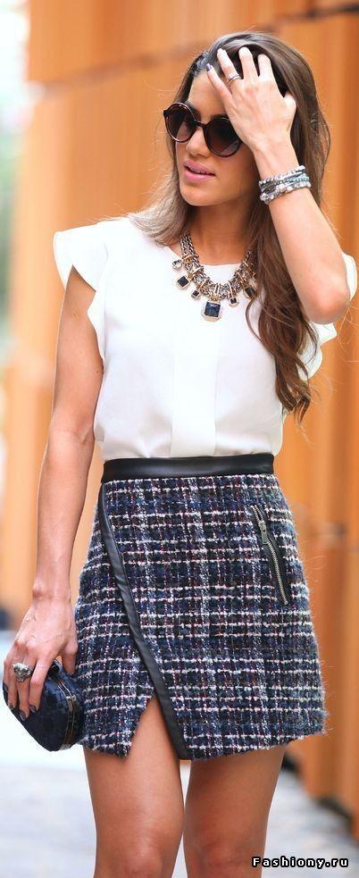 Модная асимметрия - юбки