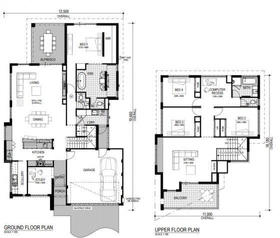 394 best fachadas images on pinterest architecture for Distribuir casa planos