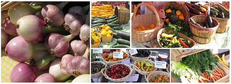 Photo Collage of the food available at Country Market