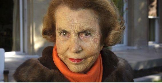 Liliane Bettencourt, héritière du groupe L'Oréal et 3e femme la plus riche du monde.