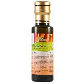 Mrkvový olej BIO - macerát - 100 ml Biopurus