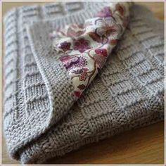 Детские одеяла и пледы вязать