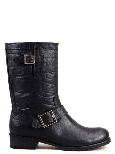 Jimmy Biker Boots#yoomstreet#boots#fashion#black#Bikerboots