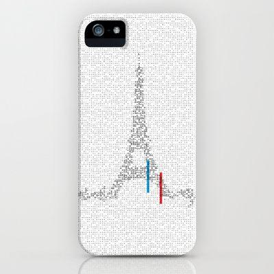 <3 Paris Paris,  iPhone Case by Esperantos - $35.00