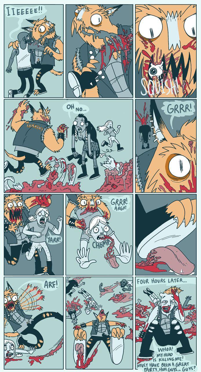 Hattie Flattener Presents... || Comics - Full Moon 3