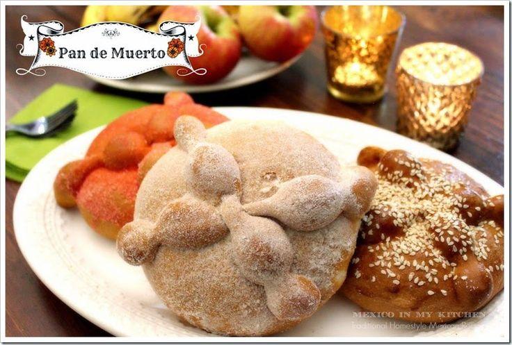 Mexican Bread of the dead recipe/Receta de Pan de Muerto
