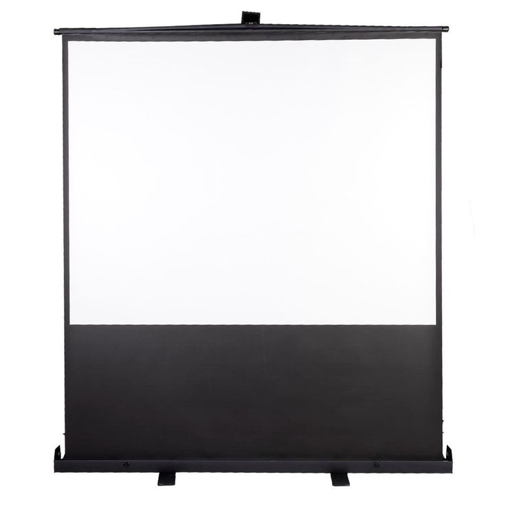 how to put projector screen with stand