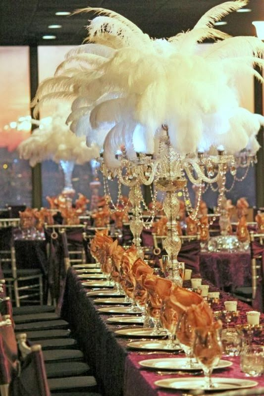I got my party shoes on...: The Great Gatsby Party: Decorations