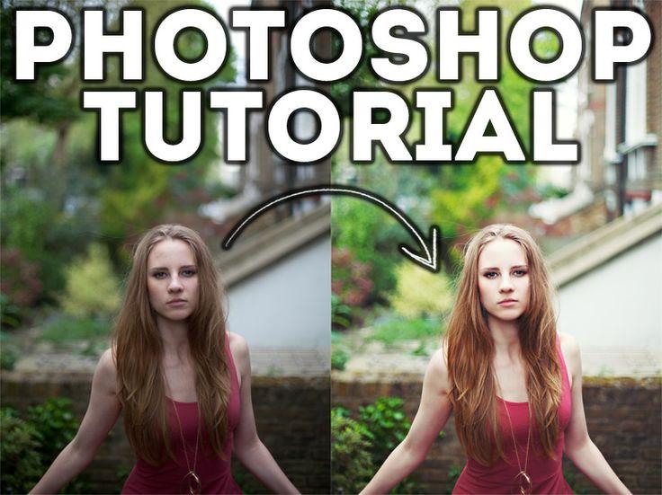 Photoshop Tutorial – 4 easy steps.