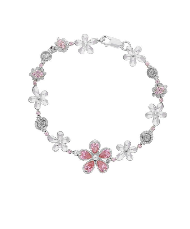 The Jenna Clifford Daisy Bracelet is an ideal spoiling for all moms on Mother's Day.