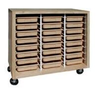 Beautiful tote Tray Storage Cabinet