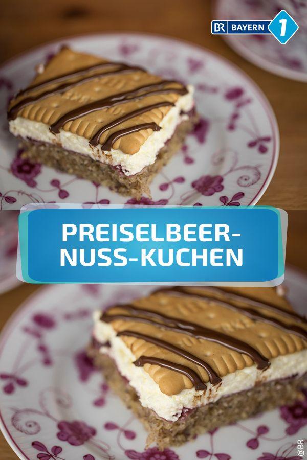 Preiselbeerkuchen Rezept Fur Preiselbeer Nuss Kuchen Kuchen Ohne Backen Preiselbeerkuchen Kuchen