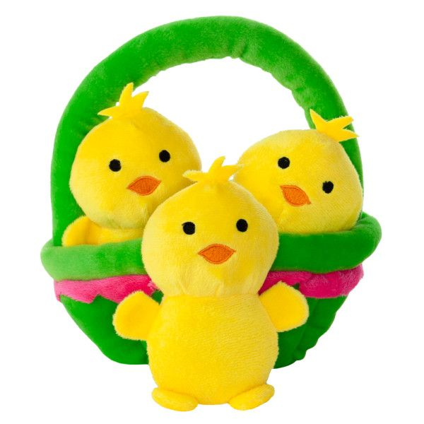 Peeps Chick Dog Toy