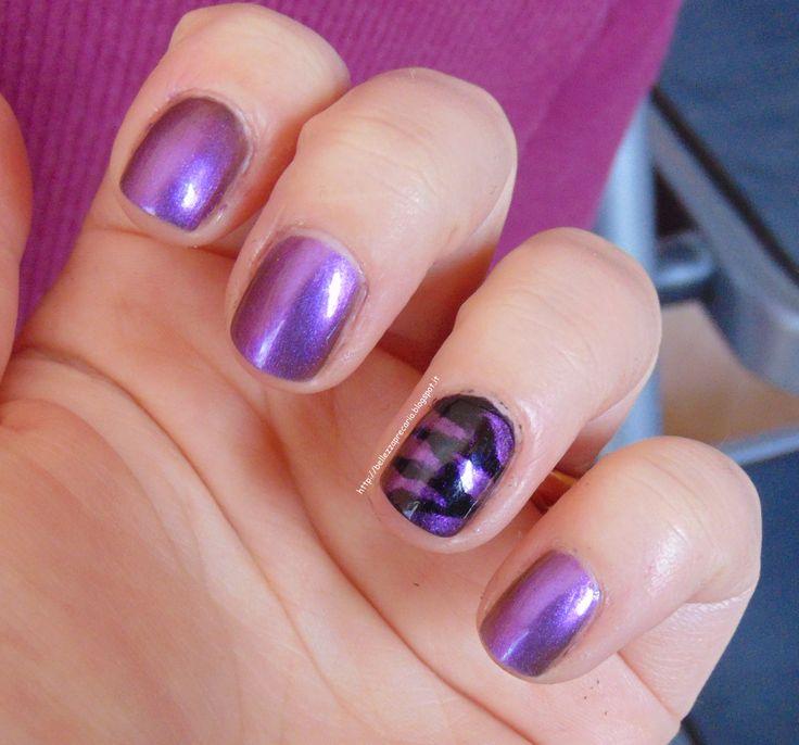 New post on my blog: COLLISTAR VIOLA CAMALEONTE! http://bellezzaprecaria.blogspot.it/2014/06/collistar-viola-camaleonte.html #collistar #bellezzaprecaria #viola #violacamaleonte #nails #smalto #nailpolish #camaleonte #nailart #effettogel