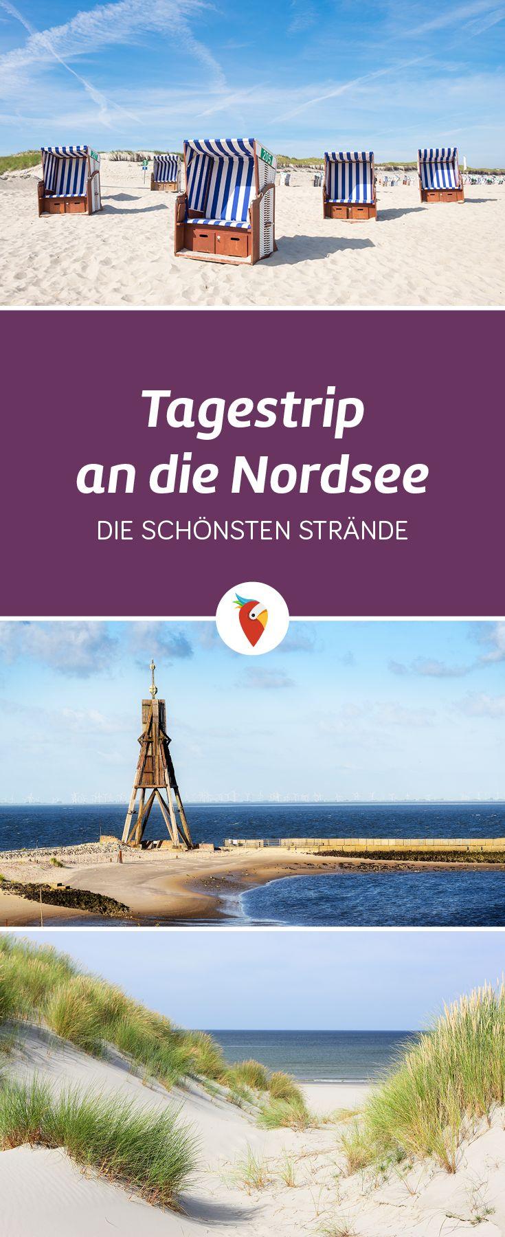 Ihr wollt einen Kurztrip an die Nordsee machen, wisst aber nicht so richtig wo es hingehen soll? Wir haben in Kooperation mit reisereporter.de die schönsten Strände an der Nordsee zusammengetragen. Schaut sie euch mal an!