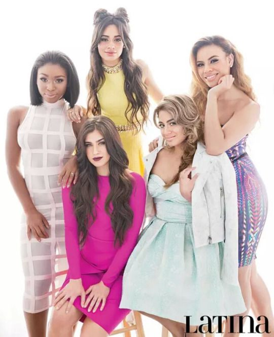 Camila with space buns, Lauren in pink, Dinah just looking perfect, Normani with short hair, Ally just beautiful