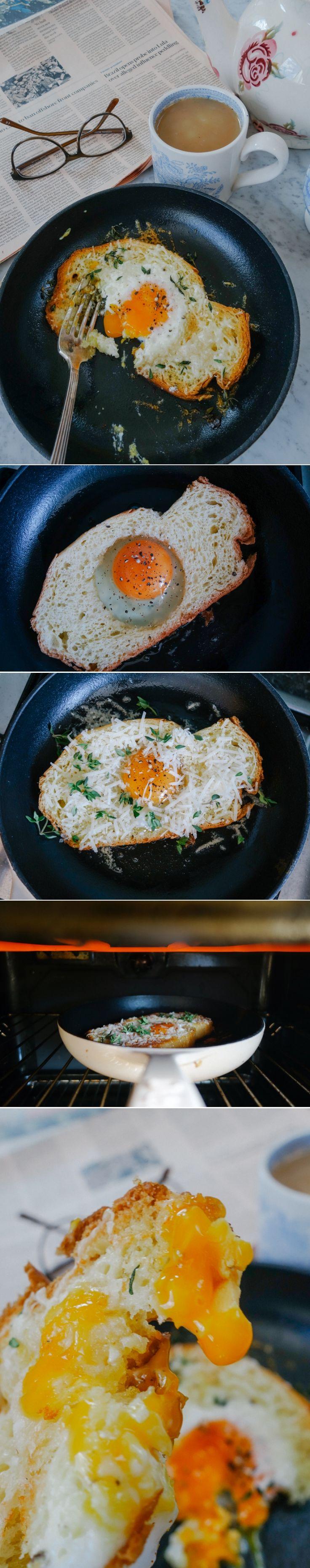 #Truffle & #Parmesan #Egg in Brioche - The Londoner