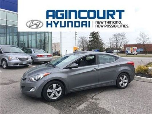 2013 #Hyundai #Elantra Just Off Lease! Low Kms And Accident Free. Perfect