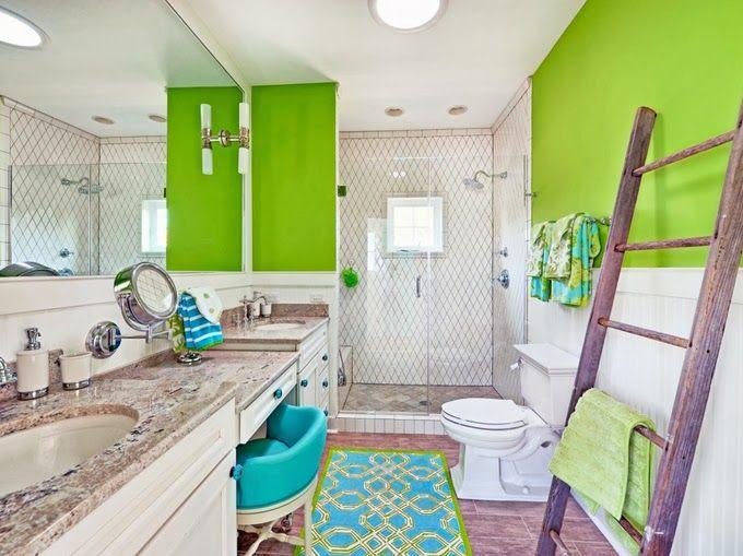 Coastal Towel Racks For Bathroom: Best 25+ Ladder Towel Racks Ideas On Pinterest