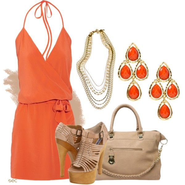 .Summer Dresses, Clementine, Style, Clothing, Dresses Collection, Outfit, Dresses Ideas, Polyvore, Fashion Girls