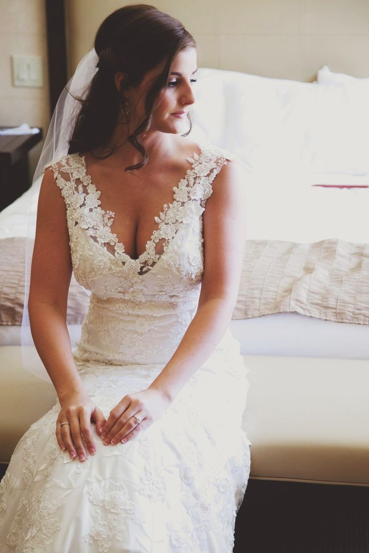 Allure 8800 Wedding gown. The most beautiful lace wedding dress!