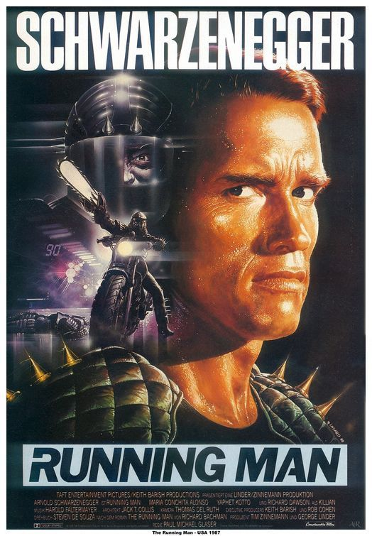 The Running Man (1987)  - Click Photo to Watch Full Movie Free Online.