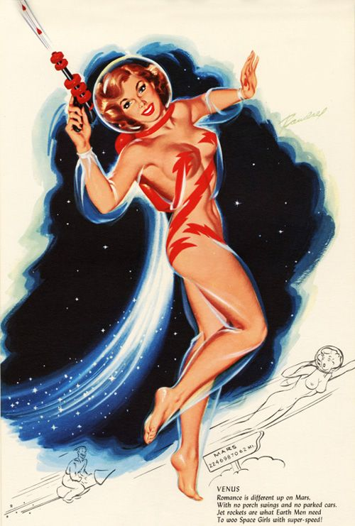 Illustration by Bill Randall , 1955