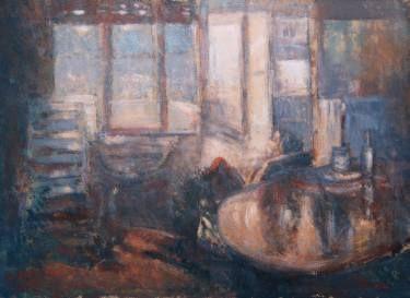"Saatchi Art Artist simone Butturini; Painting, ""Lights and words"" #art"
