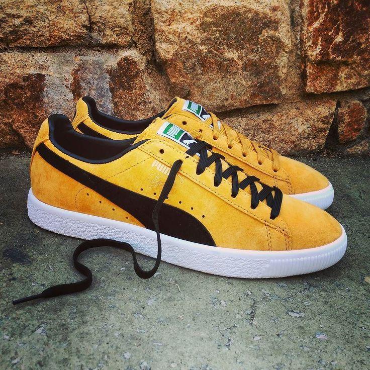 "Puma Clyde ""Bright Gold""  Size Man - Price: 99 (Spain Envíos Gratis a Partir de 75) http://ift.tt/1iZuQ2v  #loversneakers#sneakerheads#sneakers#kicks#zapatillas#kicksonfire#kickstagram#sneakerfreaker#nicekicks#thesneakersbox #snkrfrkr#sneakercollector#shoeporn#igsneskercommunity#sneakernews#solecollector#wdywt#womft#sneakeraddict#kotd#smyfh#hypebeast #huaraches #nike #puma #pumaclyde #pumasuede"