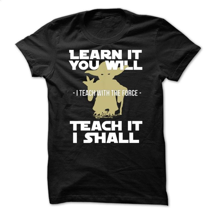 Yoda Shirt T Shirts, Hoodies, Sweatshirts - #dress shirts #mens t shirt. ORDER…