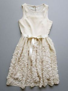 Blush by Us Angels Chiffon & Lace Girls Special Occasion Dress Fall 2013 $93 NWT