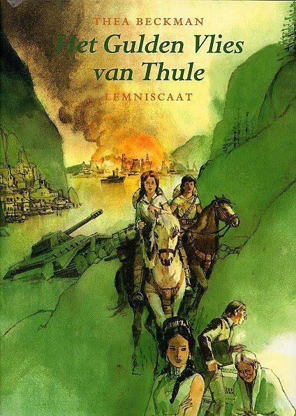Thea Beckman: Het Gulden Vlies van Thule - Fictie