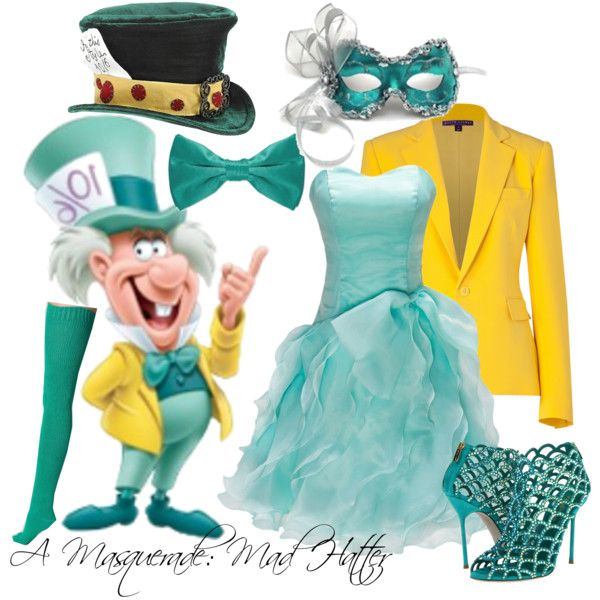 """A Masquerade: The Mad Hatter"" by helsingmusique on Polyvore"