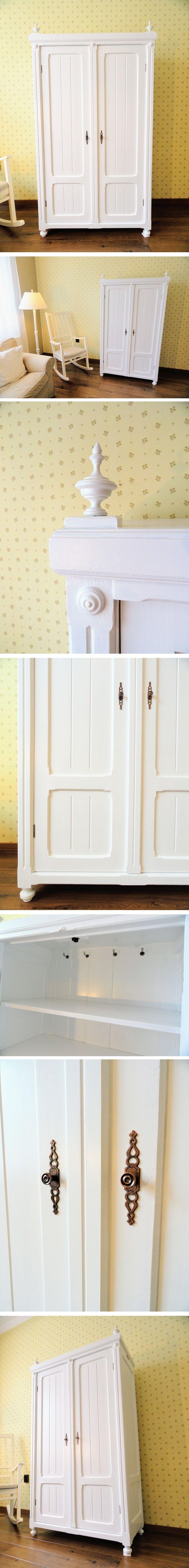 ST112 Vintázs ónémet ruhásszekrény - Vintage german renaissance wardrobe